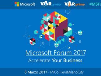 Microsoft Forum 2017