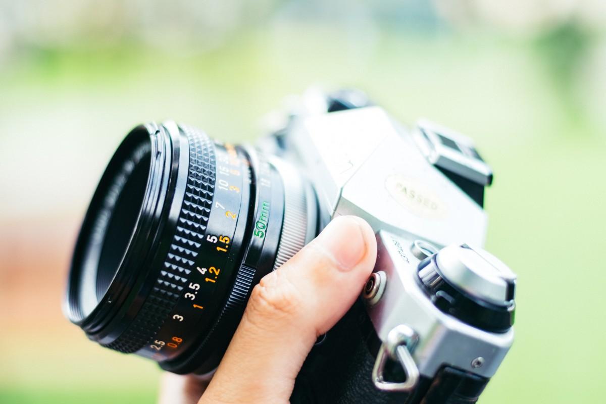 Impugnare fotocamera