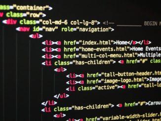 Codice HTML - Foto di James Osborne