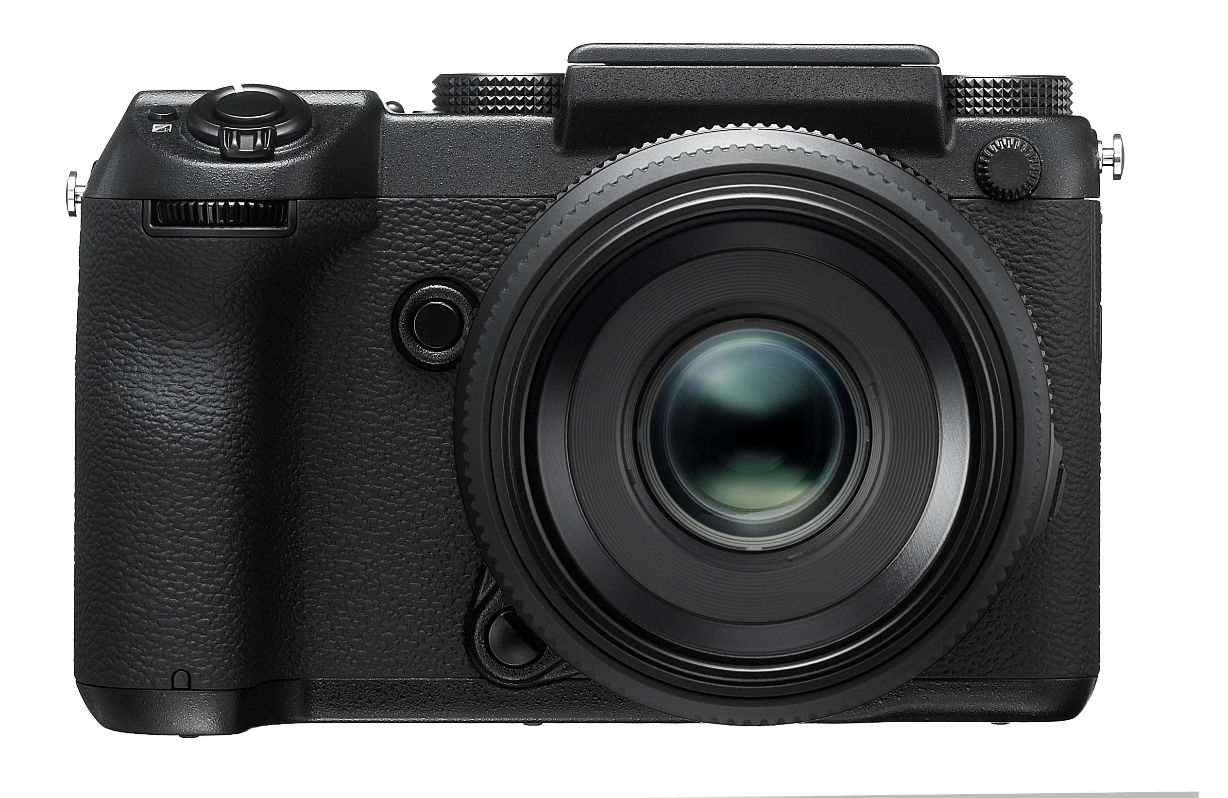 Fotocamera FujiFilm GFX 50S frontale