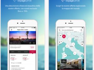 app Voyage Privé