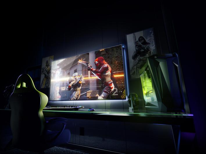 NVIDIA porta il PC Gaming su schermo gigante, grazie a un rivoluzionario display da gioco di grande formato
