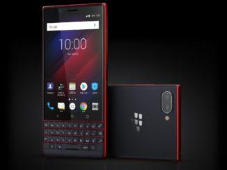 BlackBerry KEY2 LE Atomic Stylized