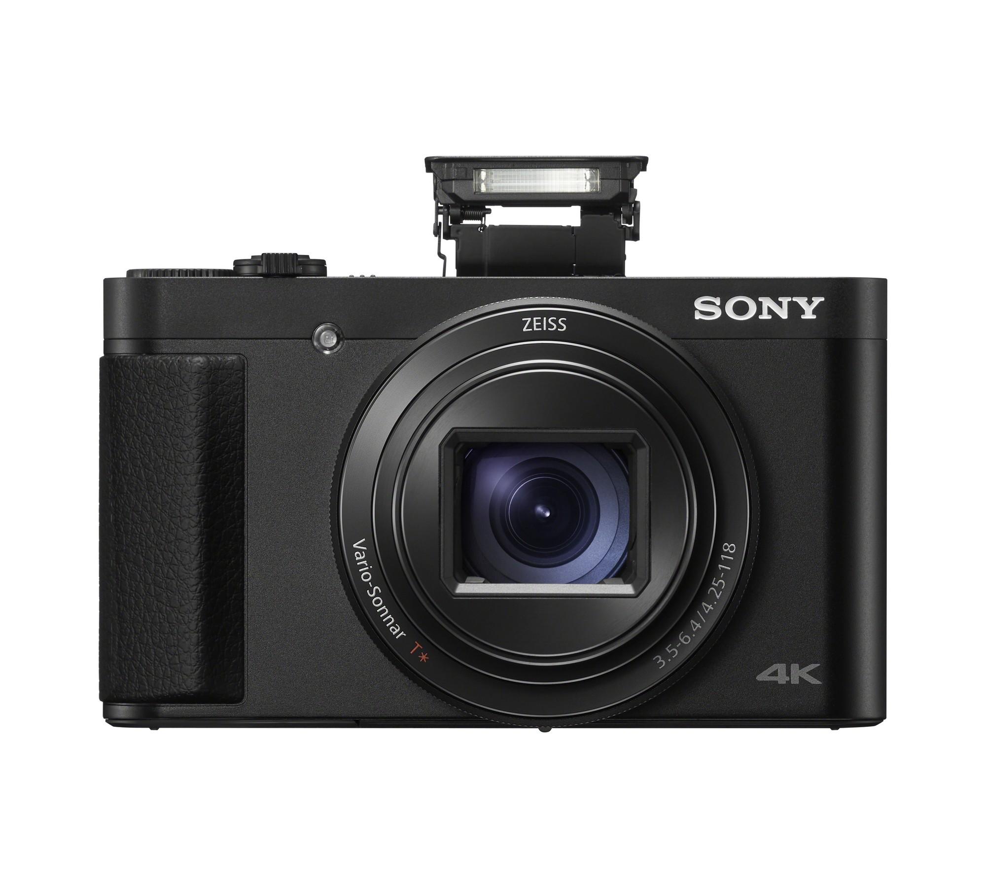 Sony HX99 con flash