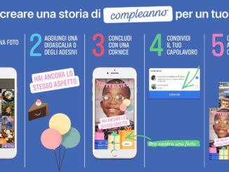 Facebook Storie Compleanno