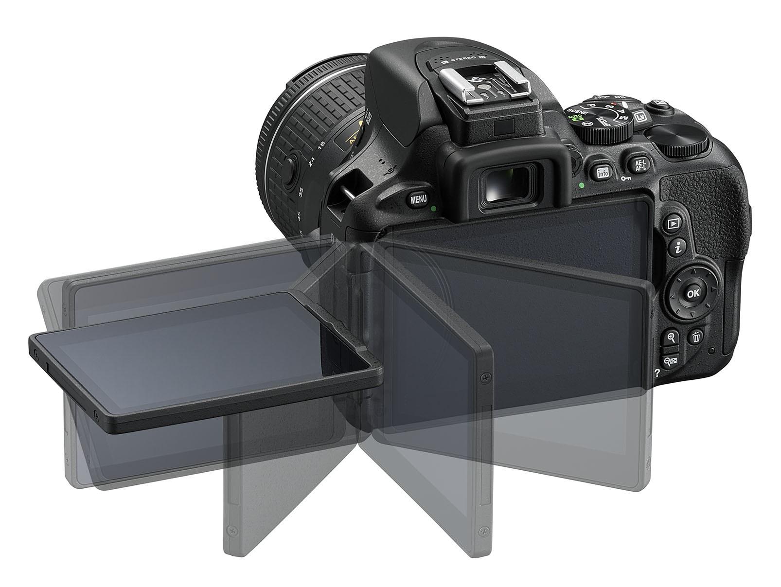 Nikon D5600 retro