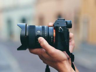 Sony obiettivo FE 20 mm F1,8