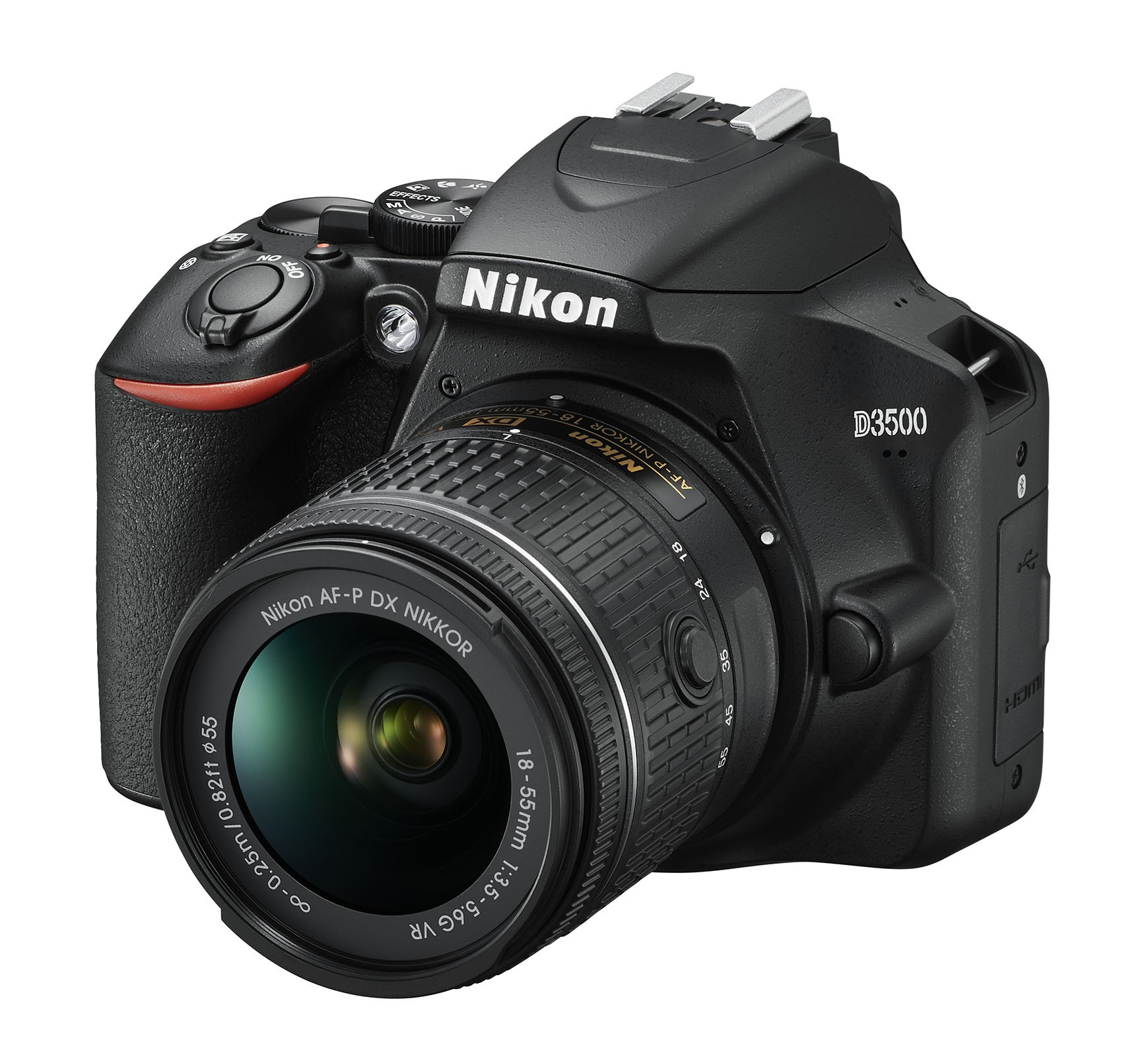 La Nikon D3500 è la reflex entry level di livello premium che, grazie al Modo Guida, permette di ottenere foto di qualità in modo semplice e intuitivo anche a chi è alle prime armi.