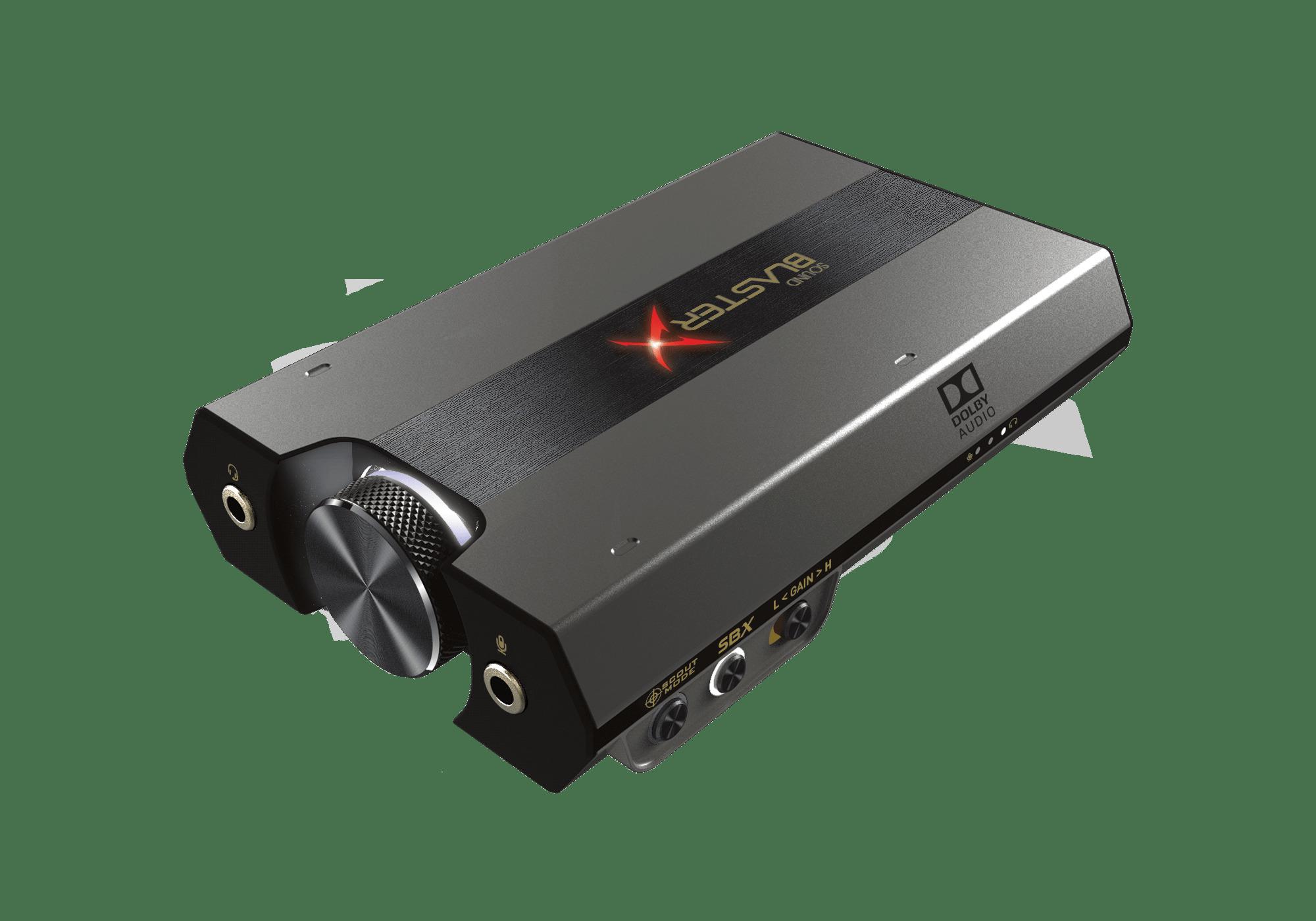 Sound BlasterX G6 completa l'esperienza su console.La premiata scheda audio da gaming implementa GameVoice Mix su PS4.