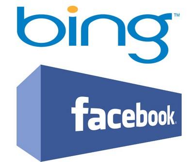 Facebook e Bing