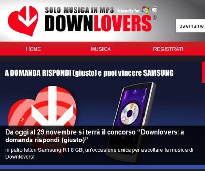 Downlovers concorso