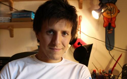 Enrico Turini, uno dei vincitori di YouTube Next up