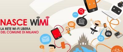 WiFi gratis a Milano grazie a WIMI