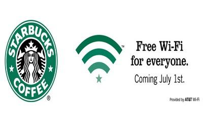 Wi-fi gratis da Starbucks
