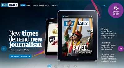 The Daily, primo quotidiano per iPad