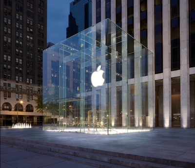 Apple Store New York Fifth Avenue © foto Apple