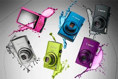 Canon Ixus 230 HS, tutti i colori disponibili