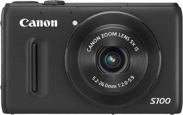 Canon PowerShot S100, versione nera