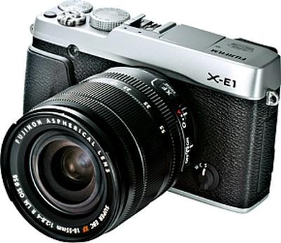 X-E1 in kit con obiettivo XF18-55mm F2.8-4 R LM OIS