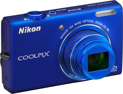Nikon Coolpix S6200 nel colore blu