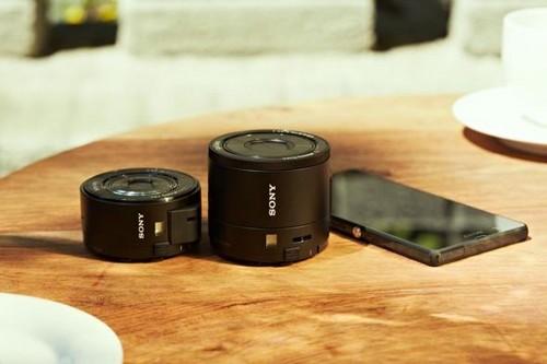 Set Sony DSC-QX100 e DSC-QX10 con Xperia Z1
