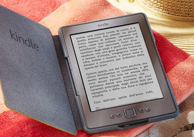Kindle: vendita in Italia al via
