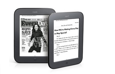Nook, nuovo ebook reader