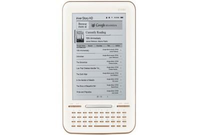 Story HD, ebook reader di Google prodotto da iRiver
