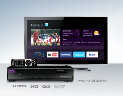 TvBox di Tiscali, sempre connessa