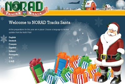 Seguire il percorso di Babbo Natale grazie al Norad