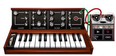 Google Doodle: sintetizzatore dedicato a Rober Moog