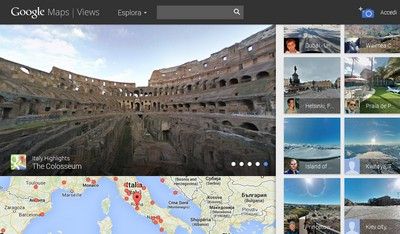 Google Views, il Colosseo