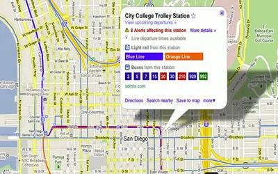 Live Transit Update di Google Maps