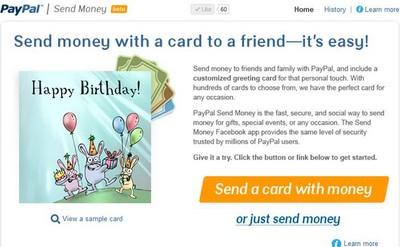 PayPal lancia Send Money per inviare denaro su Facebook