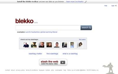 Blekko, nuovo motore di ricerca
