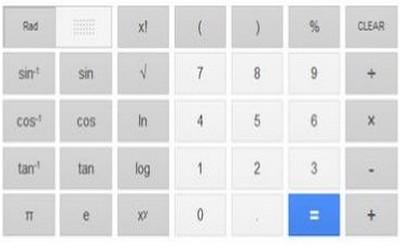 La calcolatrice scientifica di Google, nuovo strumento online