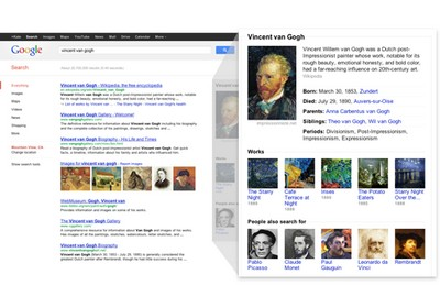 Google presenta Knowledge Graph