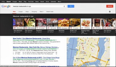 Google Knowledge Graph Carousel