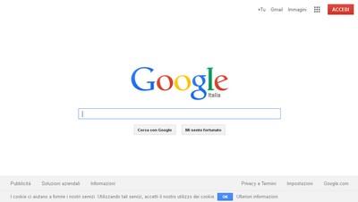 Gogole, nuovo logo e nuova homepage