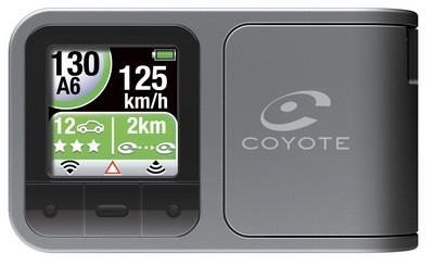 Mini Coyote Plus, localizzatore autovelox