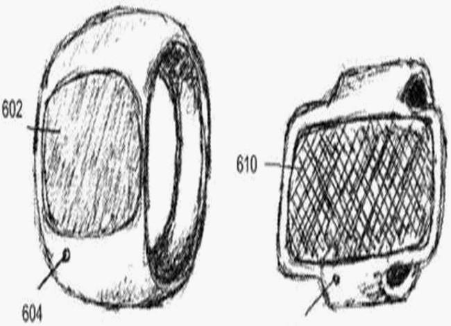 Apple: immagini del brevetto dell'anello smart