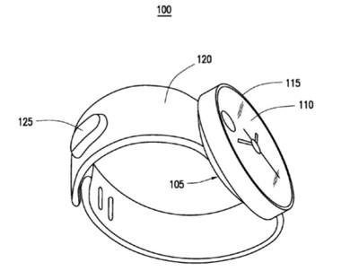 Brevetto Samsung smartwatch © USPTO & Samsung