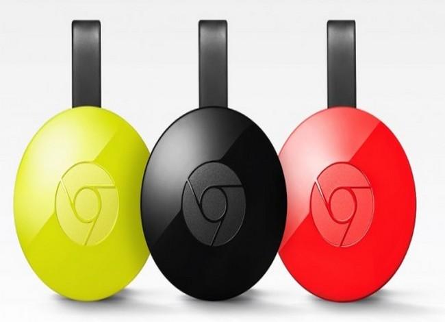 Nuovo Chromecast, le colorazioni