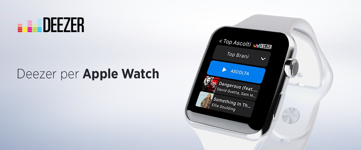 Deezer per Apple Watch
