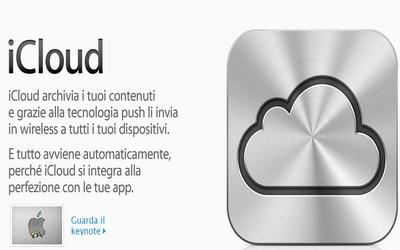 iCloud di Apple, tutto sulla nuvola