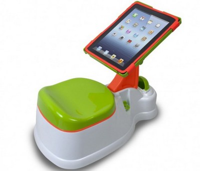 iPotty, vasino con iPad