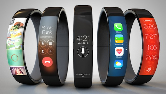 Sarà questo l'aspetto di iWatch di Apple?