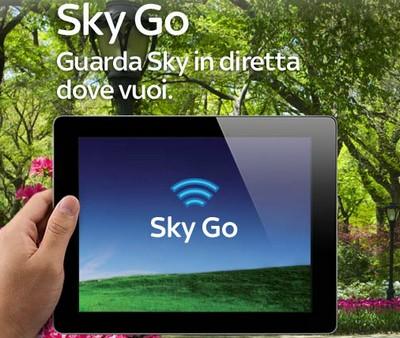 Sky Go gratis da marzo