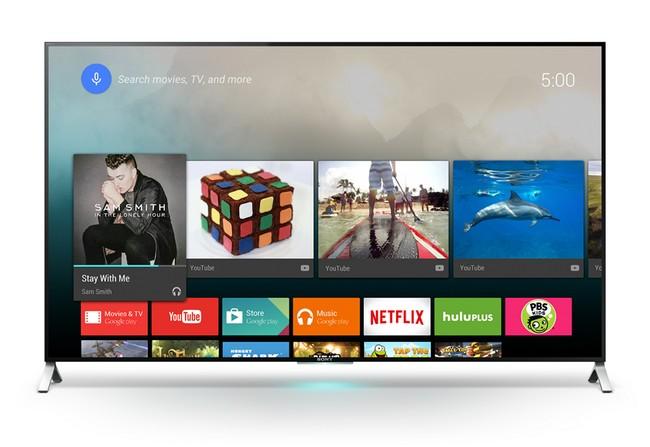 Un Sony Android TV di prossima uscita