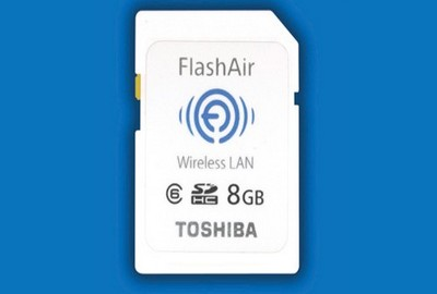 Toshiba FlashAir, la nuova memory card SD con wifi